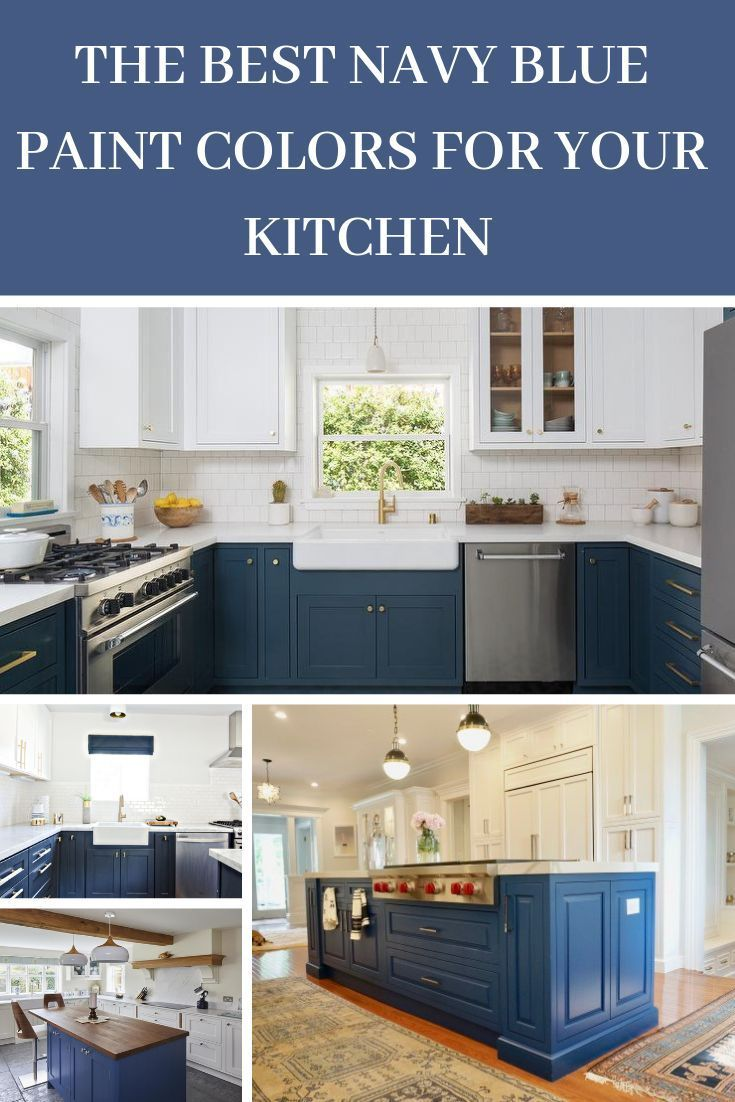 Navy Blue Kitchen Cabinets Paint Colors Gathering Home Blue Cabinets Colors Gath In 2020 Blue Kitchen Cabinets Kitchen Cabinet Colors Navy Blue Kitchen Cabinets