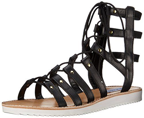 c363ed386e2 Steve Madden Women s Maybin Flat Sandal