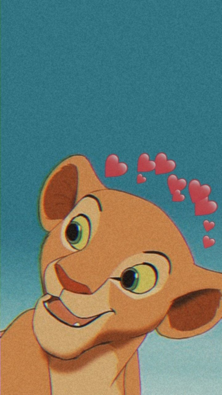 Nala Cute Disney Wallpaper Cartoon Wallpaper Disney Wallpaper Lock screen lion king iphone wallpaper