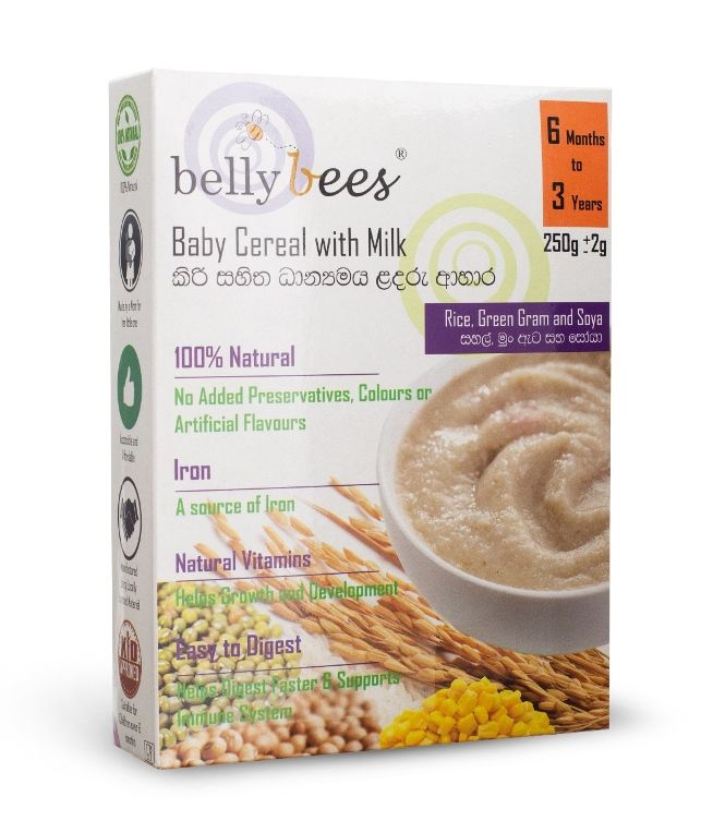 Bellybees Infant Cereal Is A Multi-grain Product That Is