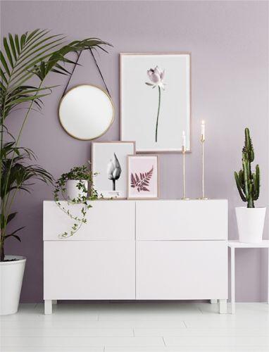 Pin von Corinna Weiß auf new home Pinterest Wandfarbe - wohn und schlafzimmer in einem raum