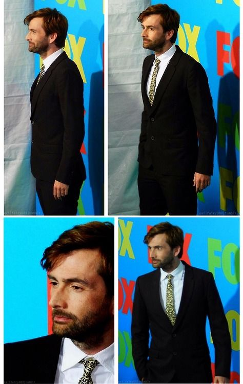 David Tennant at the Fox Fanfront event for Gracepoint. May 12, 2014.