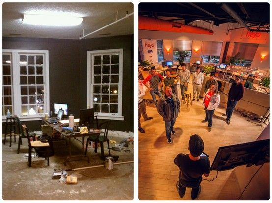 Every company has a story - it's what makes you special. What's yours?  Heyo actually began above a college bar in Blacksburg, VA - we've come a long way: http://blog.heyo.com/?p=8962