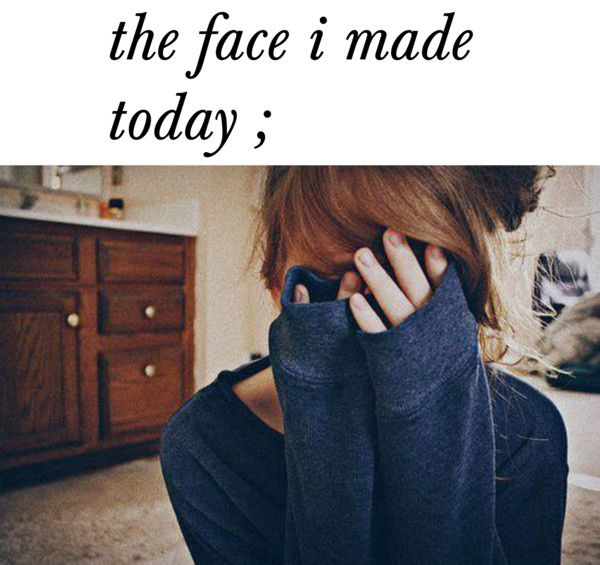 """""""the face i made today ."""" by tayzalo on Polyvore"""