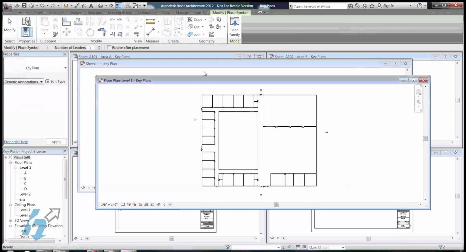 Key Plans In Revit How To Plan Autocad Revit Step By Step Instructions