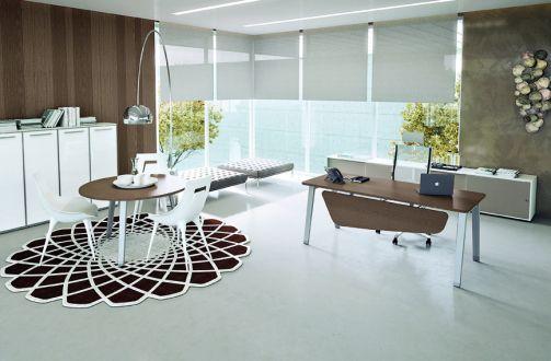 La nuova linea per gli spazi operativi che nella sua semplicità dona agli ambienti un carattere particolare ed innovativo. E-Place ha come caratteristica la facilità di installazione e la grande versabilità dei componenti.