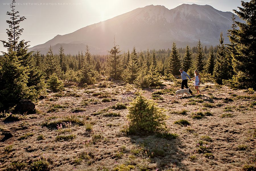 I Wanna Love You The Best That I Can :: {Mt. St. Helens Washington Engagement Photographer} » Velvet Owl Photography Blog