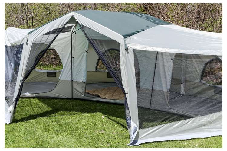 EVANS Tahoe Gear Carson 3 Season 14 Person Large Family Cabin Tent