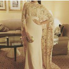 Neue Ankunft Kaftan Dubai Abendkleid 2016 Saudi-arabien Abendkleider Satin Spitze Nahen Osten Frauen Prom Kleider(China (Mainland))