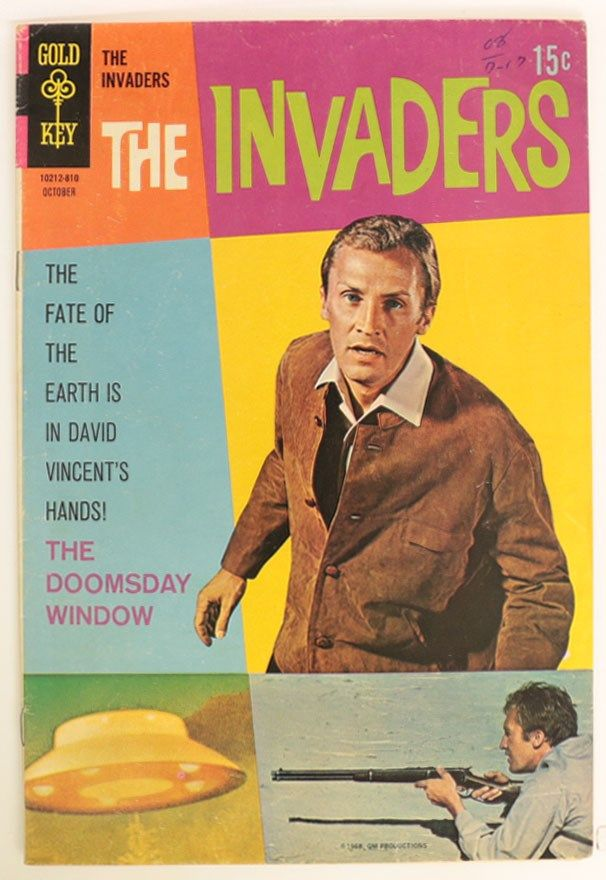 DIG Auction - The Invaders #4 VG 1968 | 58    February 12, 2019, to