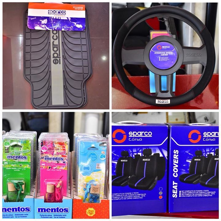 New sparco products for your car. Buy original at your