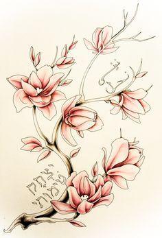 magnolia tattoo  Google Search  Tattoo  Pinterest  Magnolia