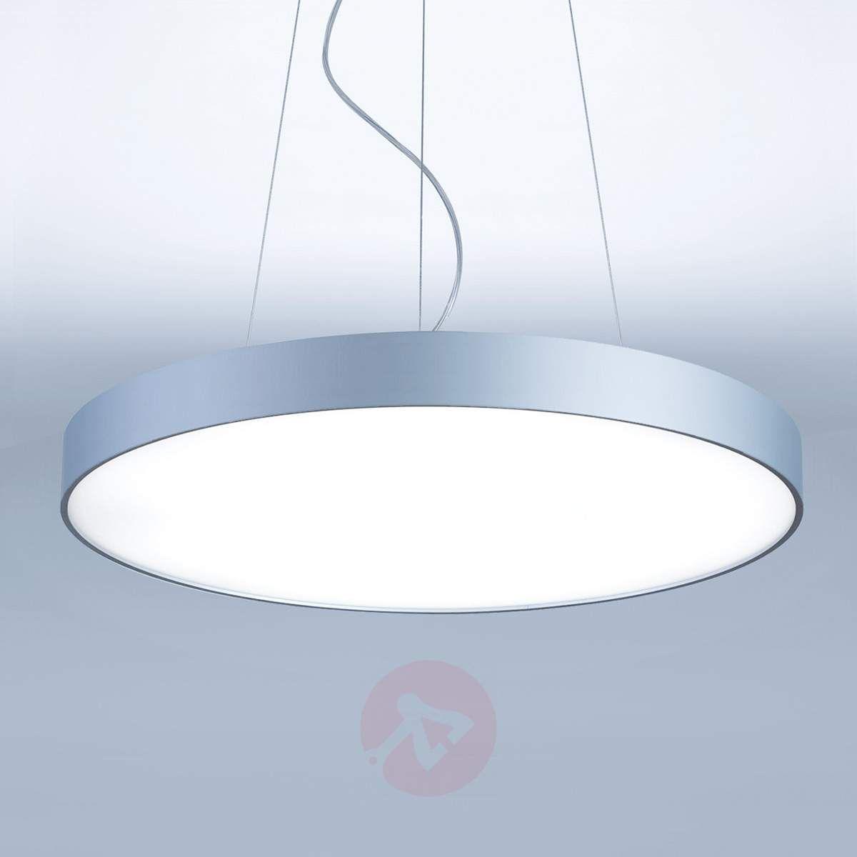 Okrągła Lampa Wisząca Led Basic P1 50 Cm Lampy Wiszące In