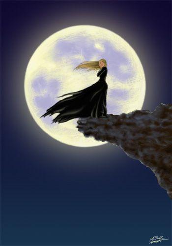 Y la luna...