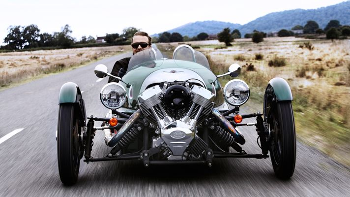 morgan three wheeler so awesome with the s s engine out front and exposed cars pinterest. Black Bedroom Furniture Sets. Home Design Ideas