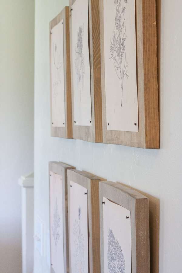 Try this out! Hang your printables, artwork, photography or prints on wood panels. Its…