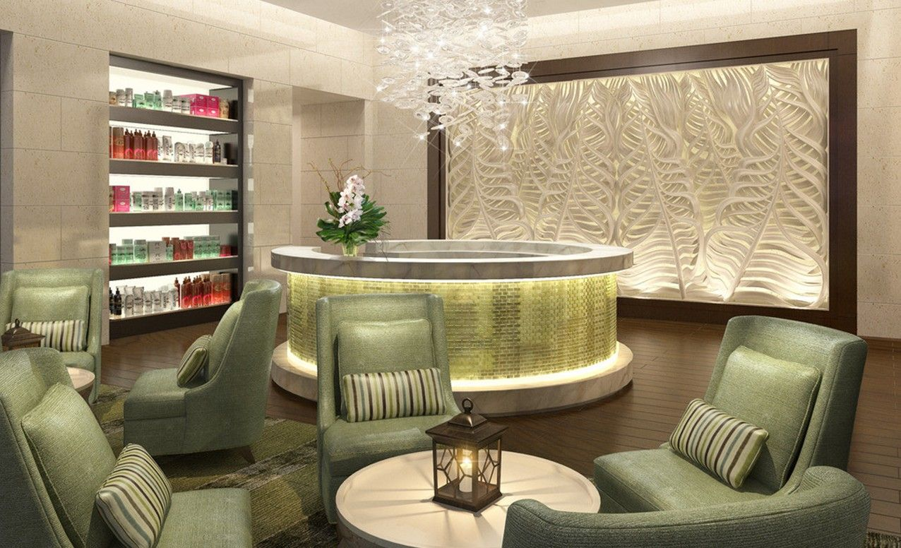 spa interior design concept - 1000+ images about Beautiful hair salons on Pinterest Hair salon ...