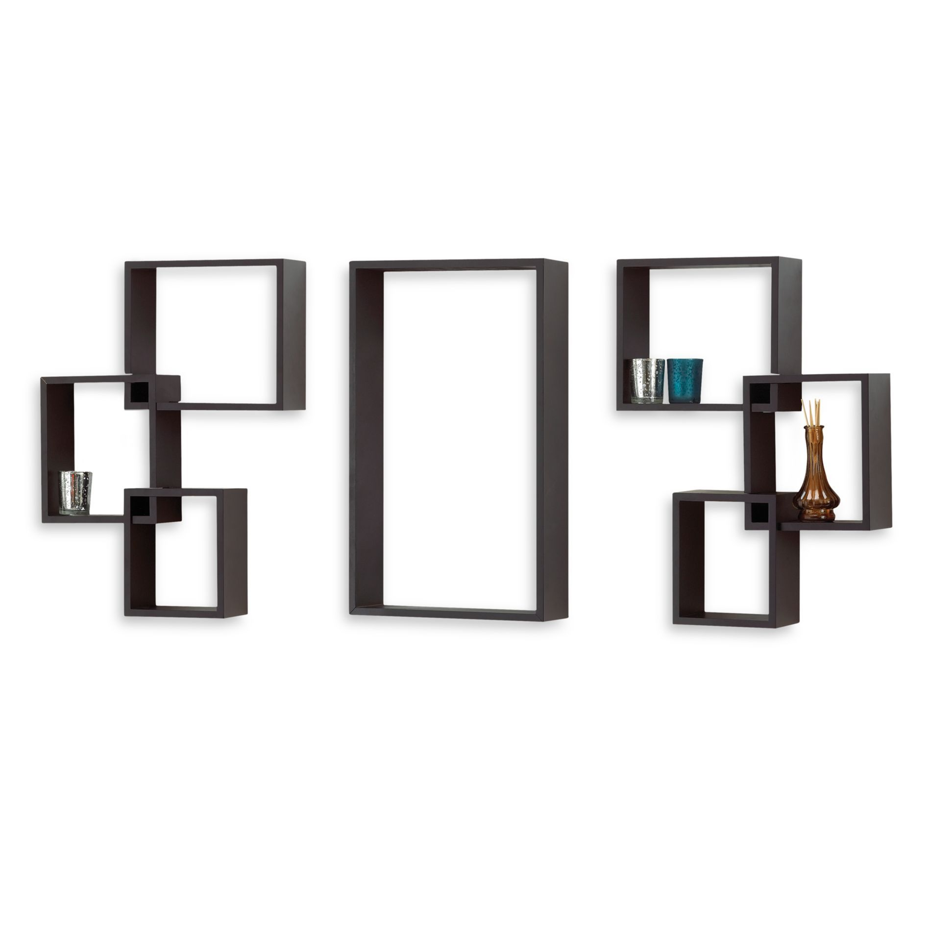 Abcs of decor 7 piece interlocking wall cube set abcs of decor 7 piece interlocking wall cube set bedbathandbeyond amipublicfo Image collections