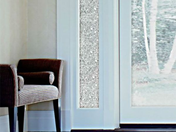 12 Surprising Design Uses For Window Film And Appliques Decorative Window Film Front Doors With Windows Window Film