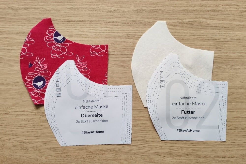 Photo of Sew a face mask with filter – Here's how ✅