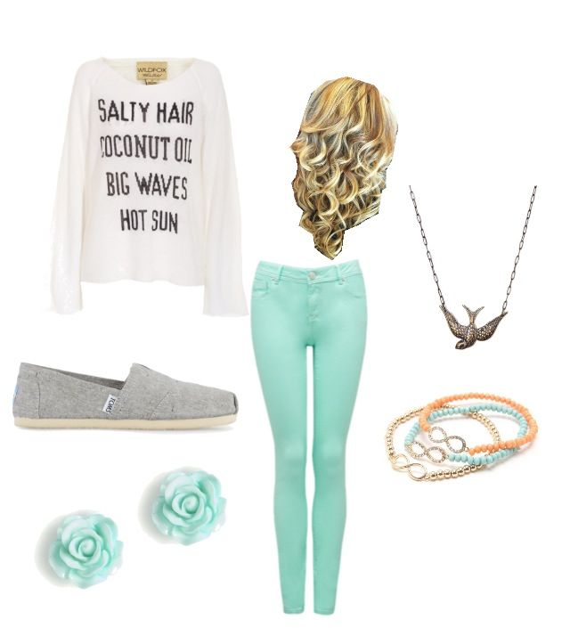 Warm Ocean Outfit My Polyvore Pinterest Ocean Fade