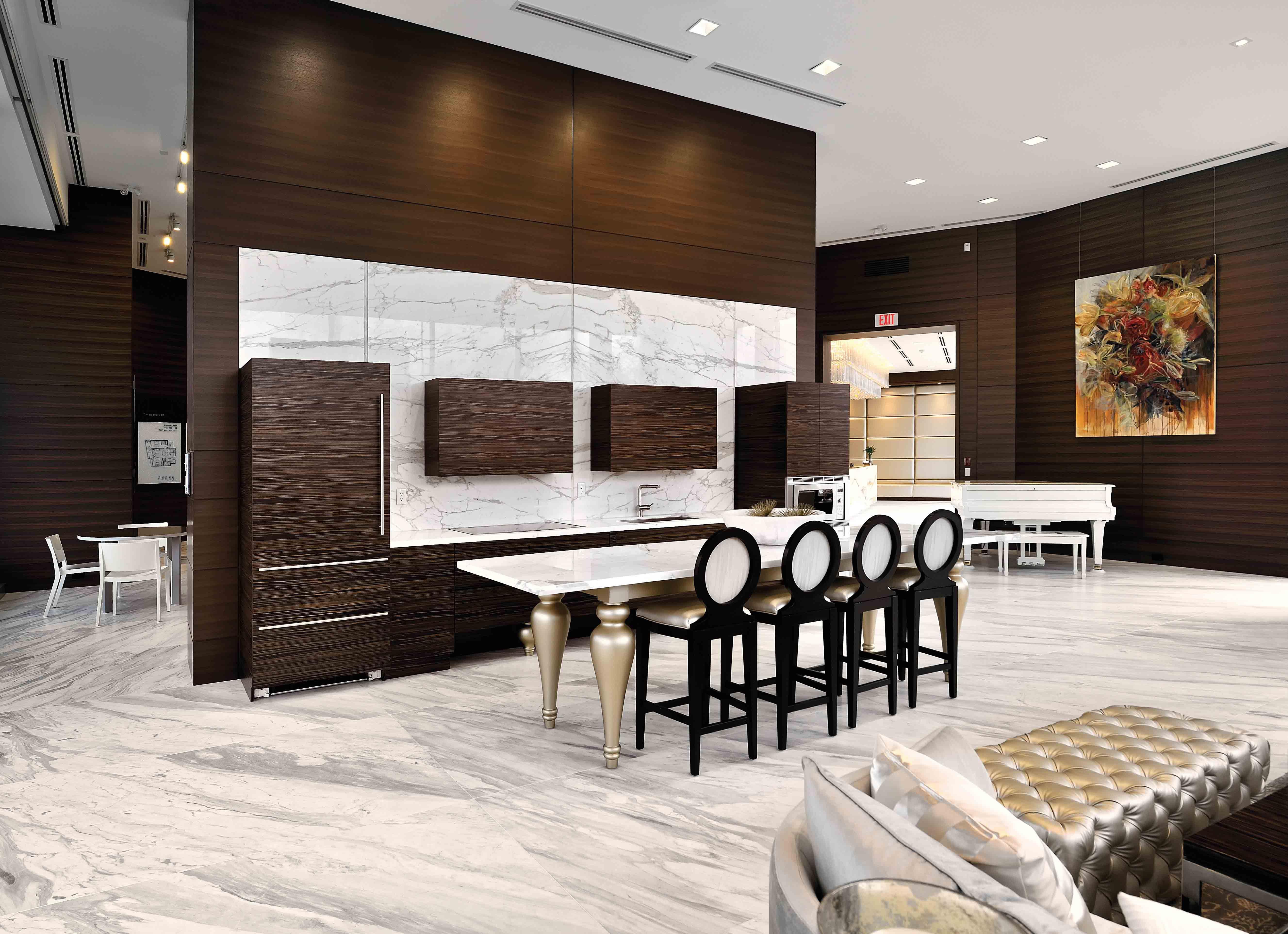 Concord Pacific Presentation Centre  Furniture & Architectural Woodwork by Seagull Enterprises LTD  www.seagull.ca