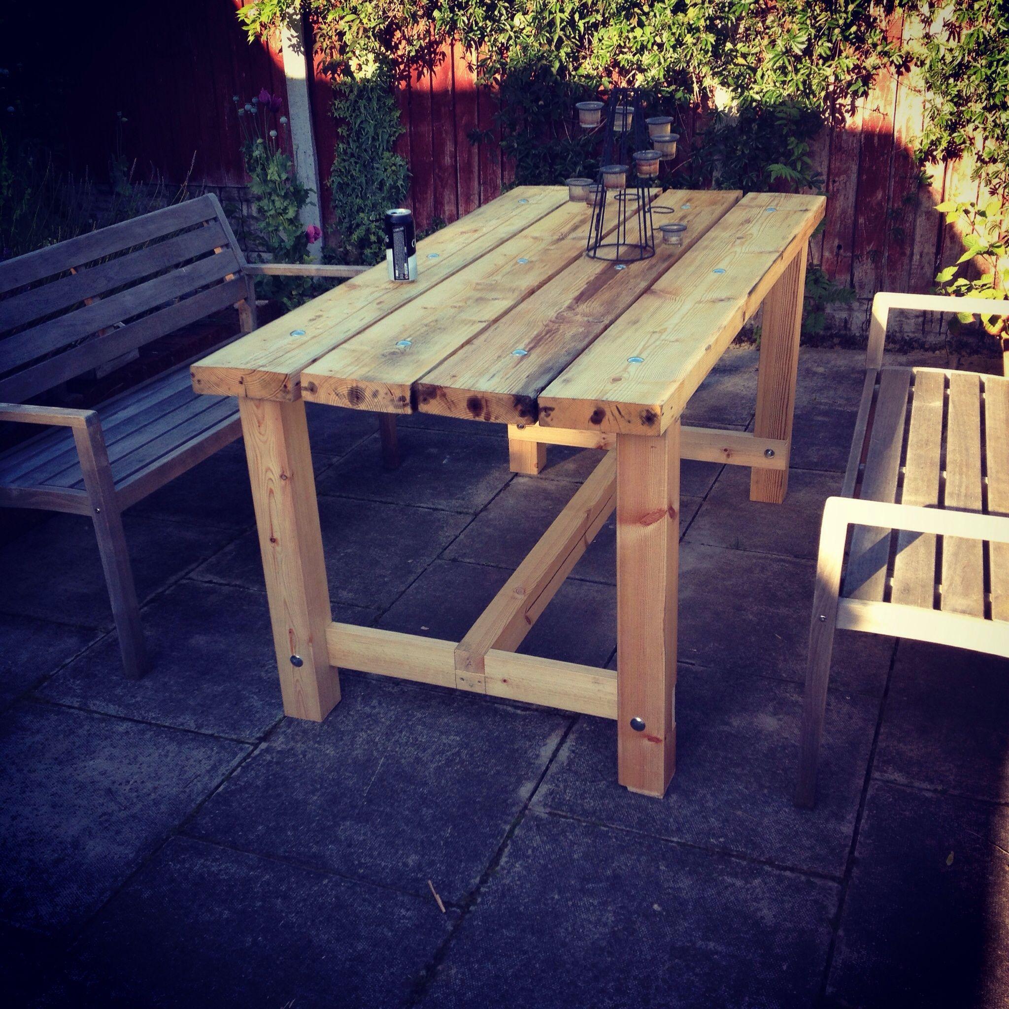 My Scaffold Board Table For The Garden Scaffold Wooden Garden Table Sofa Wood Frame Furniture