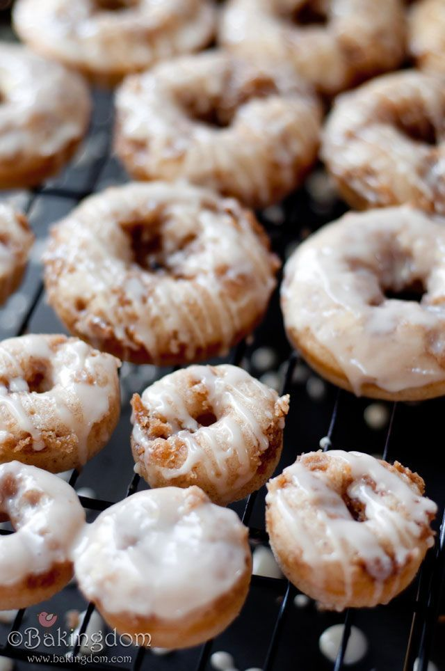 Maple Iced French Toast Donuts