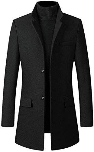 Hajotrawa Mens Pullover Long Sleeve Knitwear Turtleneck Slim Fit Thermal Sweater