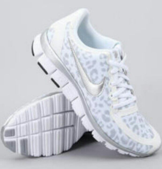 sneakers for cheap 531b0 47983 Nike free 5.0 white cheetah print. Love this clean shoe finally in   Lady  Footlocker