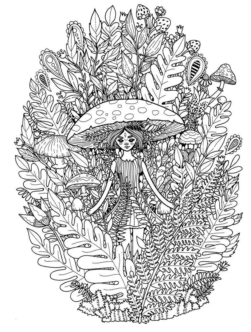 coloring page fantasy   Malvorlagen
