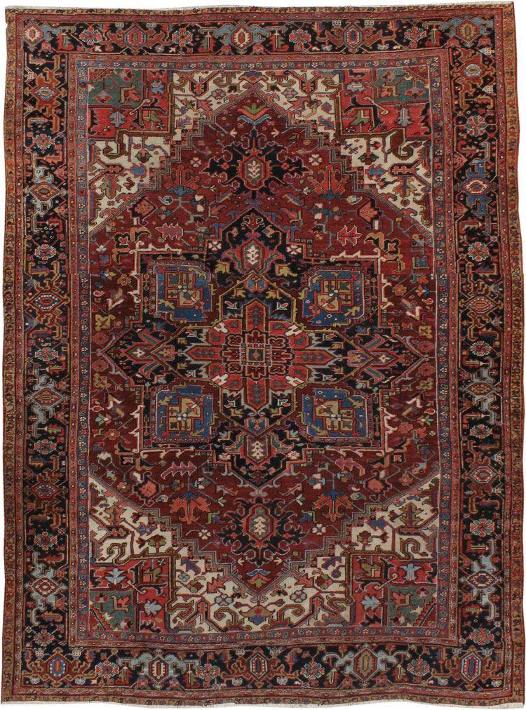 Antique Heriz Carpet Tappeti