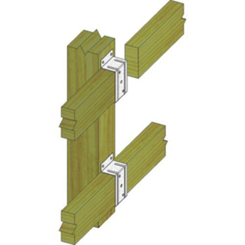 Usp Structural Connectors 2 Quot X 4 Quot Triple Zinc Fence Rail