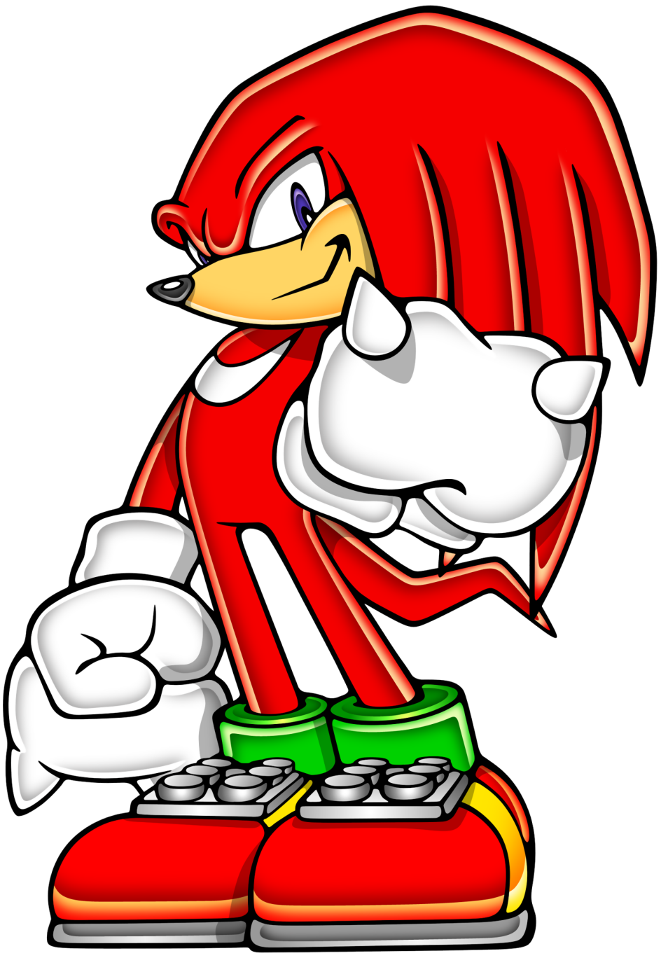 Sonic Advance Knuckles The Echidna Gallery Sonic Scanf Echidna Sonic Art Sonic Knuckles