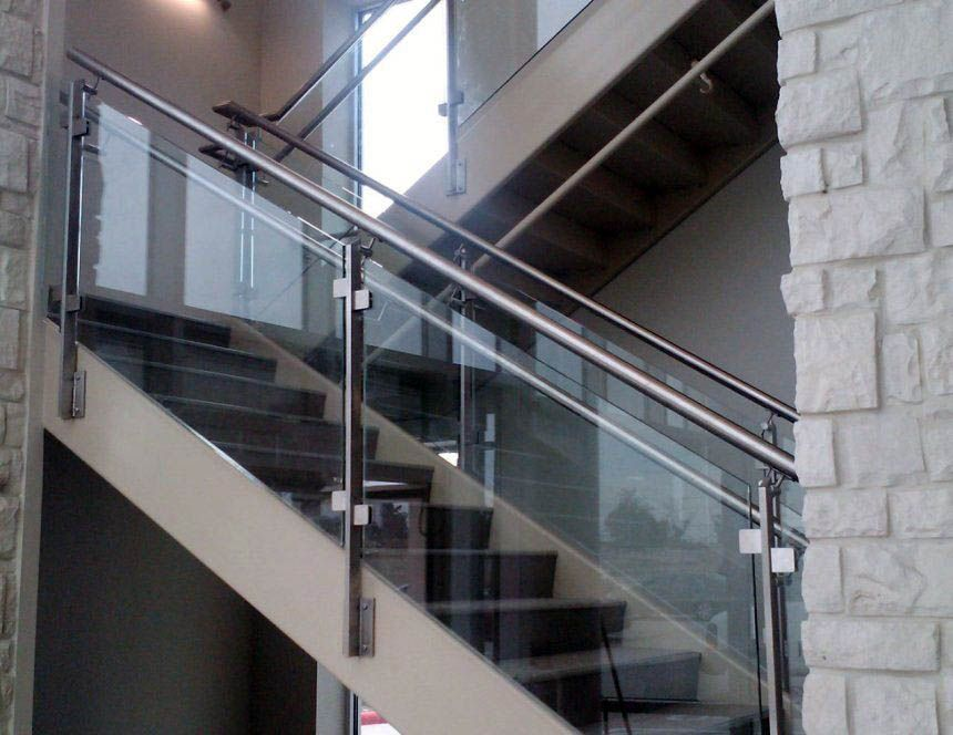 20 Sleek Gl Railings For The Stairs Railing