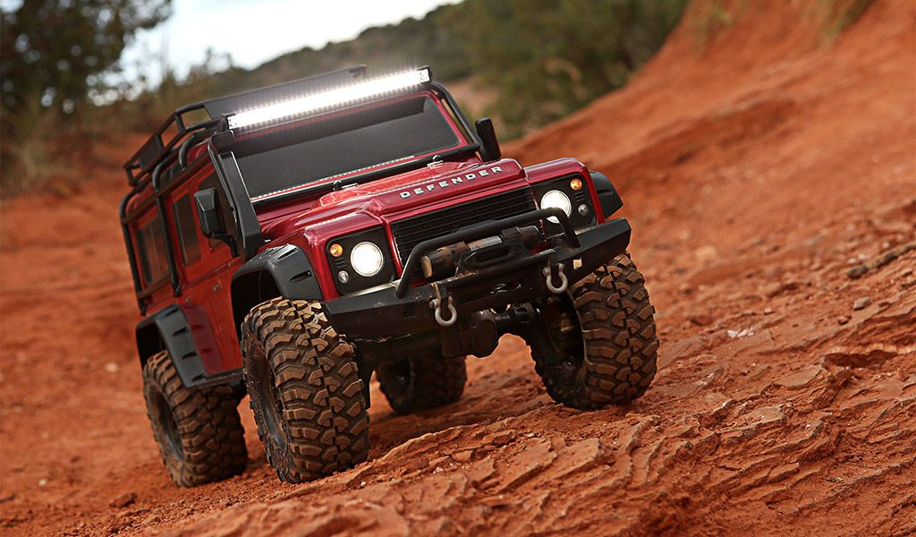 Rc Land Rover Defender 110 From Traxxas Land Rover Land Rover