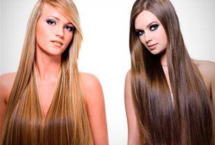 Luce un cabello largo! 71% Descuento en extensiones de cabello semidobles con clip de 18 cm de ancho y 50 cm de largo y más + Envío a Nacional