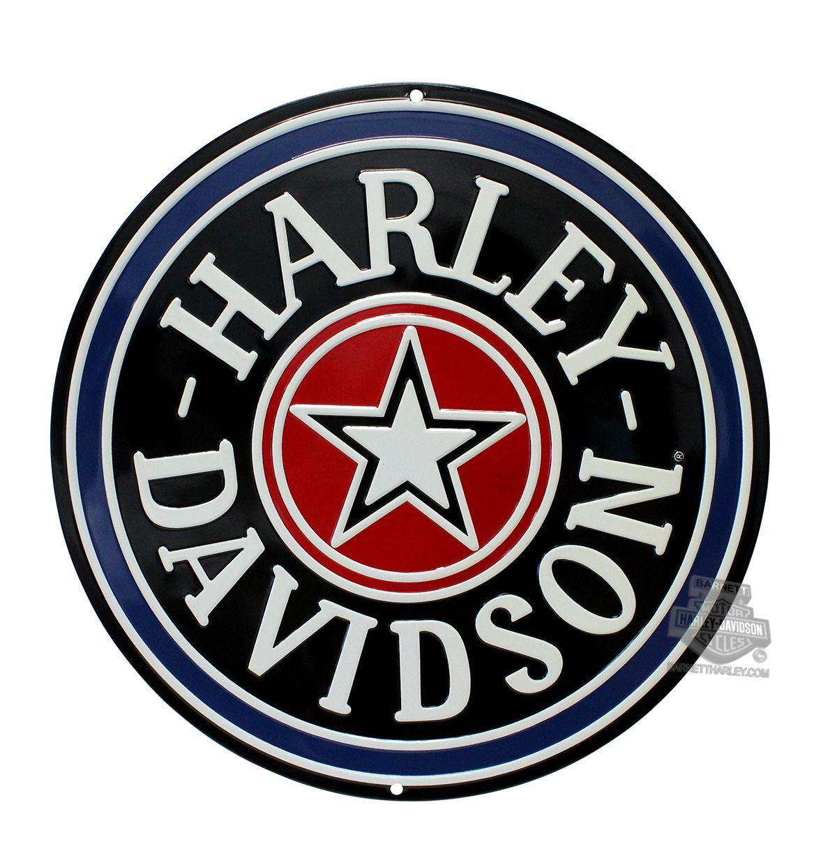 Vintage Harley Davidson Logo Vector