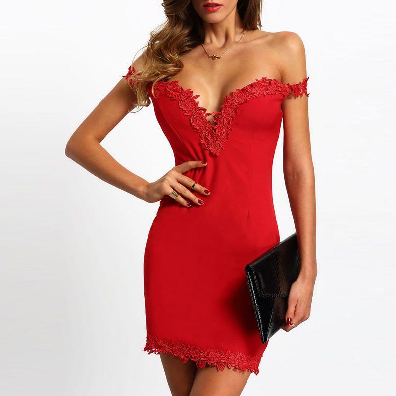 Cocktail dresses red ukrainian