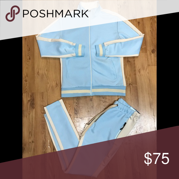 Baby Blue Track Suit NWT Tracksuit, Baby blue, Clothes
