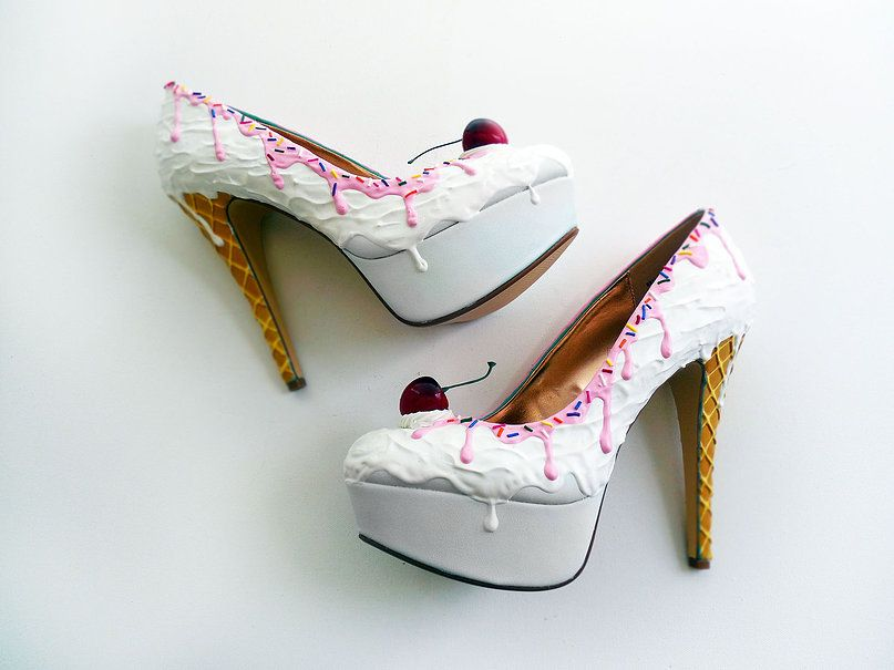 YUMMY High Heel Pumps bright pink