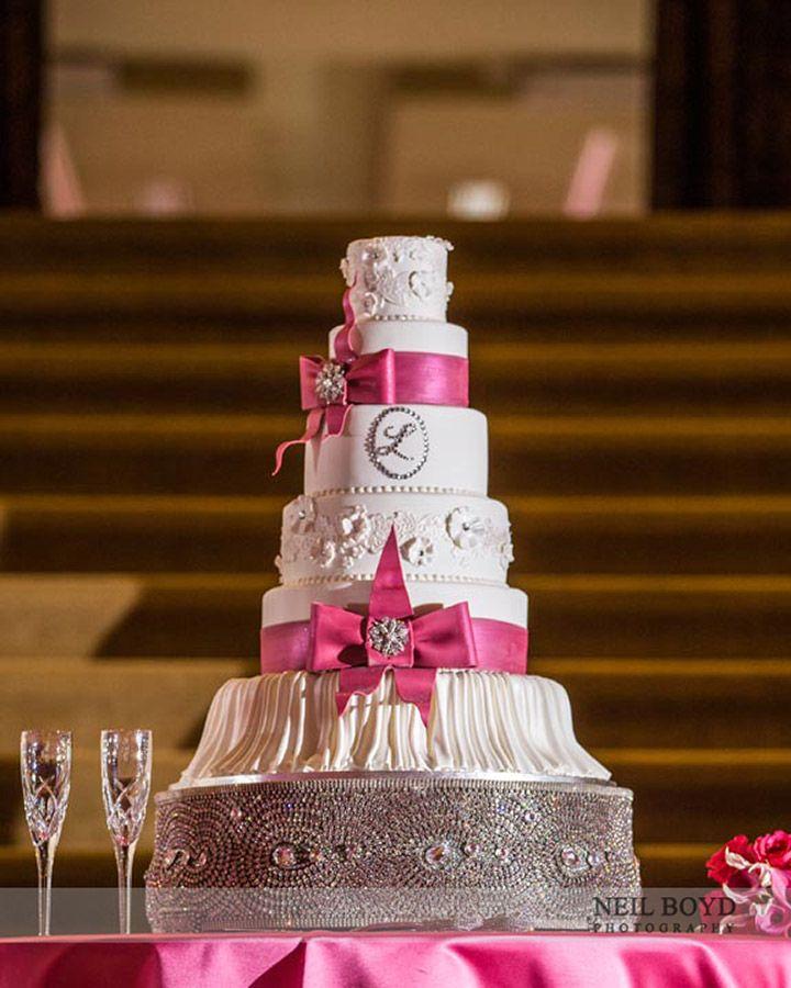 Stunning Wedding Cake From Cindau0027s Cakes. | Raleigh, NC Weddings