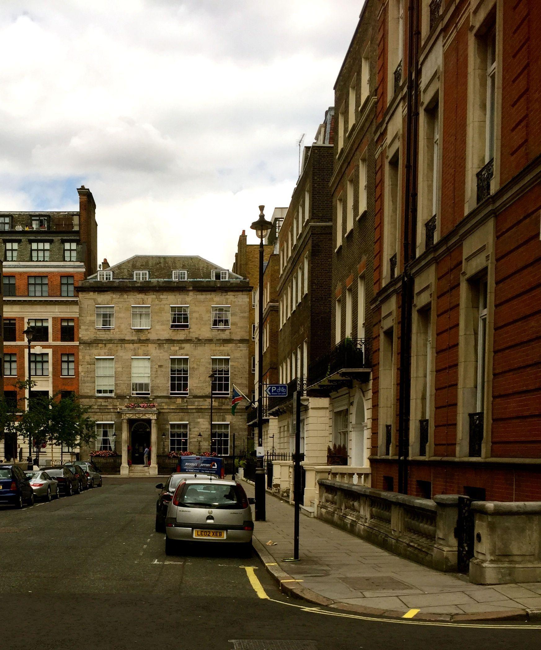 Around the corner - The Langham