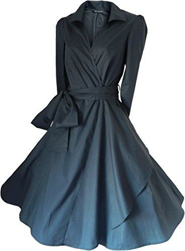 Look For The Stars Women's 3/4 Length Sleeves 50's Style Rockabilly Dress (14, Grey) look for the stars http://www.amazon.com/dp/B00O1UM2D8/ref=cm_sw_r_pi_dp_KCDoub1RE83AJ