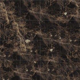Textures Texture seamless | Emperador brown marble tile texture seamless 14187 | Textures - ARCHITECTURE - TILES INTERIOR - Marble tiles - Brown | Sketchuptexture