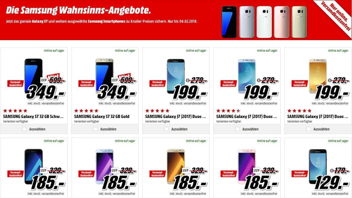 Samsung Wahnsinns Angebote Bei Mediamarkt Media Markt Samsung Medien