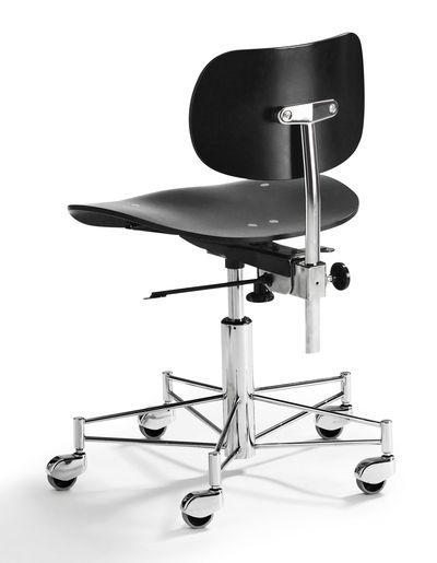 Sbg 197 R Black By Egon Eiermann Wilde Spieth Chairs