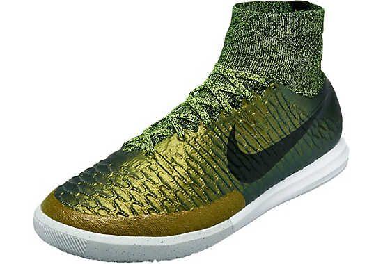 Nike Magistax Proximo Indoor Shoes Dark Citron Football