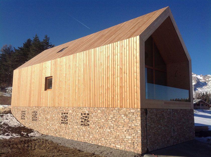 Fr d ric g raud architecte chalet contemporain houses for Chalet haus bauen