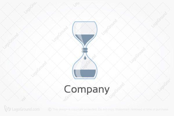 Exclusive Logo 186368, Lab Time Hourglass Logo (Dengan gambar)